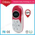 Dispositivos de sos/reloj con batería de larga vida perseguidor de los gps los niños teléfono móvil