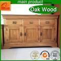 Tablero de partícula melamina/de madera maciza de roble gabinete
