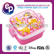 most popular elegant design bpa free children 120ml safety material plastic lunch box