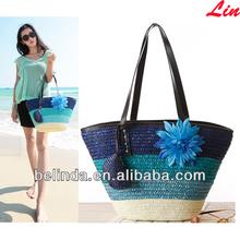 bolsas de playa cesta de paja beach straw basket bags