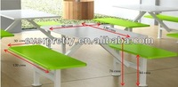 modern restaurant glass banquet table/glass dining table Dominica school dining tables with chairs