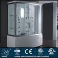 Hs-sr016 cabina de vapor de vapor completa cuarto de aseo con bañera