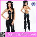 Ingrosso pelle catwoman costumi, animali donne sexy costume per adulti