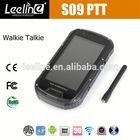 S09 NFC PTT outdoor cell phone,waterproof Smartphone android IP68 Waterproof Dustproof Shockproof