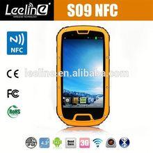 S09 NFC PTT military phones from at&t,waterproof Smartphone android IP68 Waterproof Dustproof Shockproof