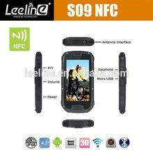 S09 NFC PTT rugged windows mobile phone,waterproof Smartphone android IP68 Waterproof Dustproof Shockproof