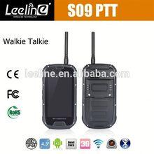 S09 NFC PTT military spec cell phones at&t,waterproof Smartphone android IP68 Waterproof Dustproof Shockproof