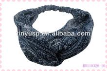 2014 hot sales fabric hair wraps,hair wrap clips,hair tie hair wraps