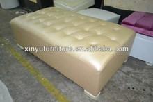 Modern hotel footstool/Wedding ottoman XY0116