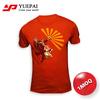 High quality no minimum china all over print dry fit cheap custom t shirt design