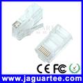 jaguartee alta qualidade cabo ethernet 8 pinos rj45 conector preço