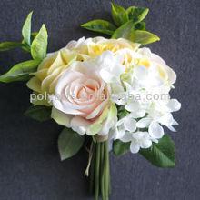 chic color 28cm rose bouquet bridal bouquet