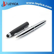 fancy 3 in 1 stylus pen LED flashlight stylus pen