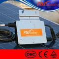 múltiples tipo de salida de cc a la ca de cuadrícula corbata solar inversor micro para el hogar distribuida del sistema solar