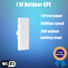150Mbps 1000mw 2.4ghz high power wireless outdoor ap cpe POE Power with Repeater/Router/Gateway/WISP mode,