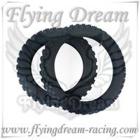 pit bike yuan xing quality tire front 14 rear 12 60/100-14&80/100-12 dirt bike parts ,mini moto parts