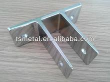 Zinc alloy metal wall brackets OEM metal wall mount bracket