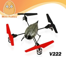 WL toys V222 2.4G 4ch 4axis ufo 3d model bubble fountain bullet rescue