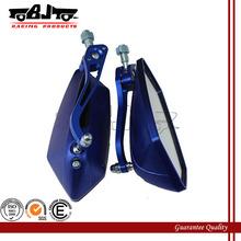 BJ-RM-029 Cheap Blue motorcycle mirrors for motorbike motorcycle ATV, street bike