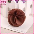 hecho a mano de la moda marrón accesoriosparaelcabello flores de seda