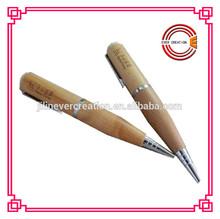 Natural wooden pen USB flash drive