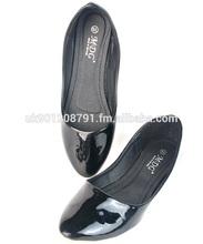 Wholesale Women Ladies Casual Flat Dolly Shoes Pumps Ballerina BET 001 DEN