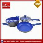 Best Popular Forged Aluminium Flavor Stone Cookware Set