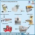 Alimentos metal máquina de lata/de conservas de tomate máquina/pequena máquina de conservas
