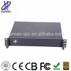 1U 19 inch mini itx rackmount server case/storage/firewall server case