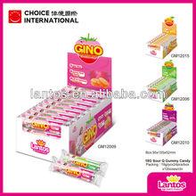 LANTOS brand 18g sour gummy soft candy