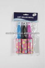 cheap reusable sticky mini lint roller brush industrial lint roller