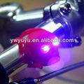 heiß geführt silikon frontlicht und Sicherheit rücklicht fahrrad silikon schädel licht