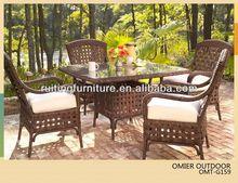 F057 Popular garden wicker+garden+table