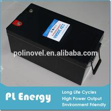 12v 300ah deep cycle lifepo4 truck/ EV battery pack