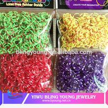 Fashion twistz bandz colorful loom jewelry manufacturer china BY041532