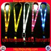 Hot New Products For 2014 Polyester Led Flashing Lanyard useful promotional gifts