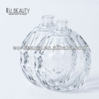 Clear 100ml Speical Shaped Empty Perfume Glass Bottl