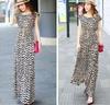 chiffon long sleeve muslim wholesale pakistani plus size women chevron maxi dress