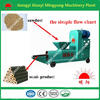 Smokeless CE approved sawdust briquette charcoal making machine 0086-15093222893