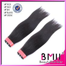 Brazilian vrigin natural straight human hair free weave hair packs