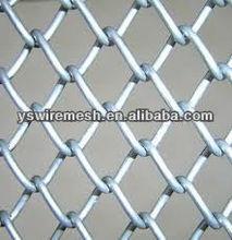 Galvanized steel mini chain link fence black mesh