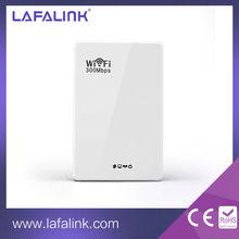 PW100 Wireless-N Wifi Repeater 802.11N/B/G Network Router Range Expander 300M 3dBi Antennas EU Plug
