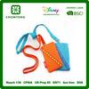 hot sales mobile/cell phone neck hanging bag, mobile phone holder lanyard for promotional