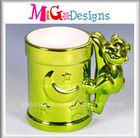 Vendor Ceramic Electroplating Bulk Coffee Mugs