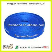 Reflective nylon webbing,jacquard tape,5/8'(15mm) promotion satin tape,polyester ribbon for webbing sling