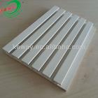 White PVC Slatwall Panel