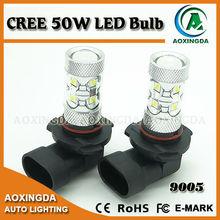 automotive LED fog light bulb CREE 50W High power LED 9005