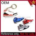 Personalizado estilo de sapato barato Air Jordan tênis 3D chaveiros