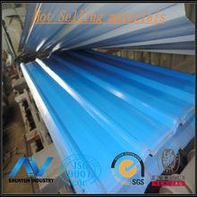 Prime galvanized corrugated sheet metal,corrugated metal roofing sheet