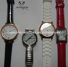 Wholesale colored cute thin leather wrist concepts quartz watches